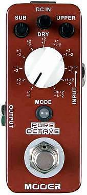 MOOER PURE OCTAVE - EFFETTO OCTAVER A PEDALE PER CHITARRA