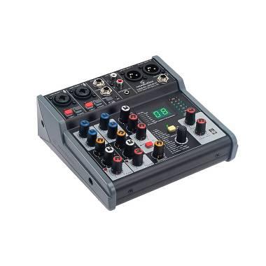 Soundsation MIOMIX 204FX Mixer Audio Professionale 6-Canali con Multi-Effetto
