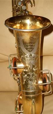 Sax alto martin handcraft gold plated