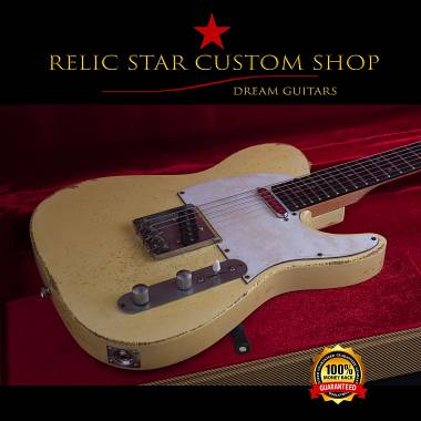 RELIC STAR CUSTOM SHOP t-'50 light weight Robben Ford style Telecaster