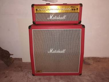 Marshall MG 100 HD FX - Limited edition red