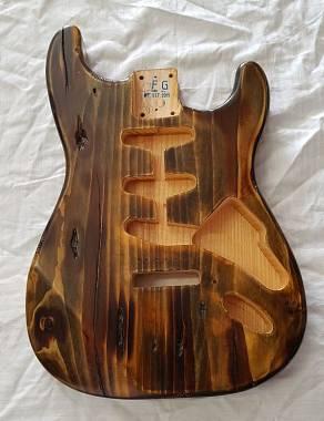 BODY Stratocaster lavorati a mano