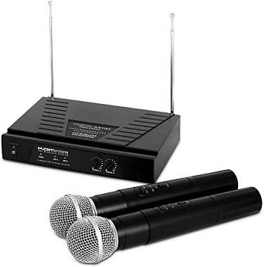 ULTIMO PEZZO! Radiomicrofono doppio Kam Audio Wireless