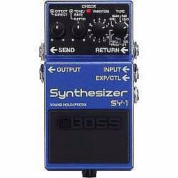 BOSS SY-1 GUITAR SYNTHESIZER PEDAL - EFFETTO SINTETIZZATORE A PEDALE