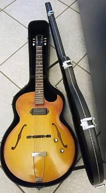 Gibson ES 125 TC - 1961 CHITARRA SEMIACUSTICA CON ASTUCCIO RIGIDO-TRASPORTO INC.