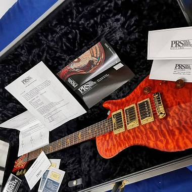 2001 PRS Paul Reed Smith private stock SC, BRAZILIAN R 14/24kgold inlays McCarty