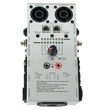 Tester cavi DAP Audio professionale test