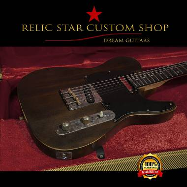 RELIC RELIC STAR CUSTOM SHOP dark natural t-'50 light weight Telecaster