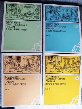 30 celebri canti regionali italiani - Aldo Rossi