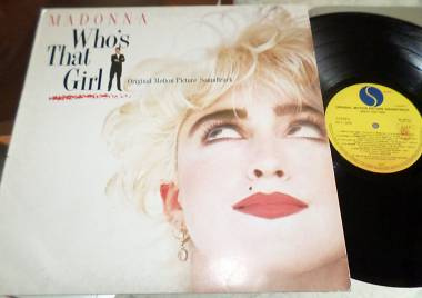 MADONNA - ‎Who's That Girl - O.S.T. LP / 33 giri 1987 Italy
