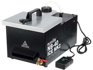 Eurolite Nb40 Ice Mk2 fog Macchina fumo basso