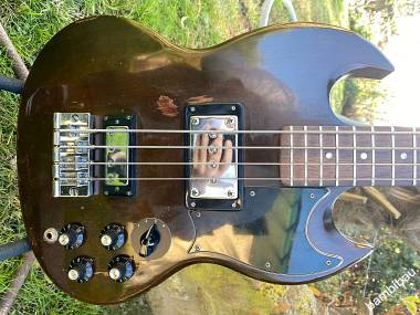 1973 Gibson EB-3 Bass - Walnut - OHSC