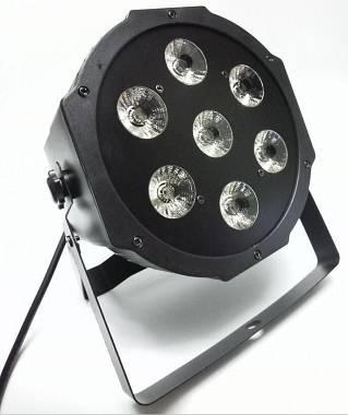 PAR LED 7X15W RGBW + UV
