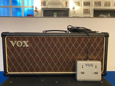 Vox AC30 head + footswitch
