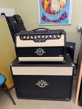 The Valve 2 canali 50w + cassa 2x12 speaker Celestion Vintage30