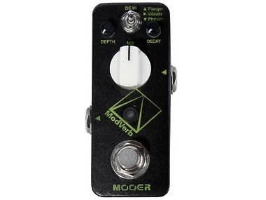 MOOER MODVERB - DIGITAL REVERB PEDAL - RIVERBERO + MODULAZIONI