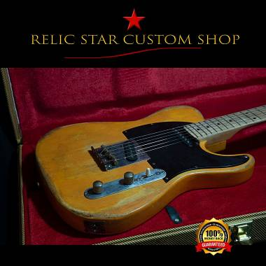 RELIC STAR CUSTOM SHOP t-'50 light weight Telecaster