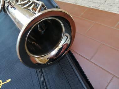 Sax soprano Slade nichelato argento