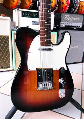 fender Player Telecaster PF 3TS Color Sunburst