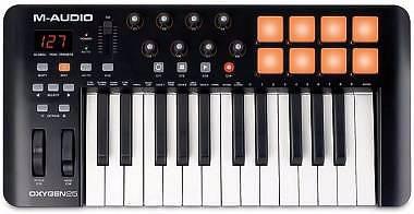 M-AUDIO OXIGENE 25 4 TH- GEN CONTROLLER MIDI/USB 25 TASTI