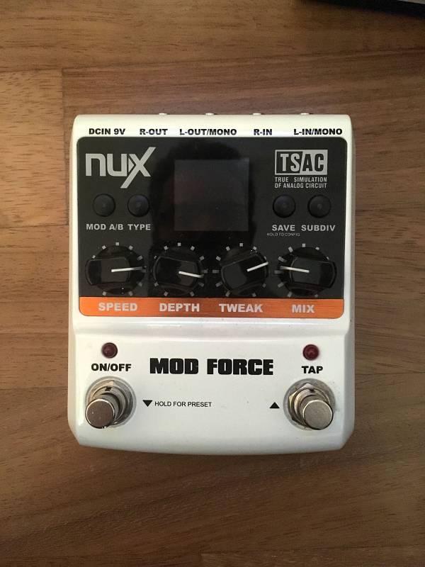 NUX MOD della force effetti a pedale effetto per chitarra mod Force